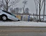 火災保険補償事例:車が塀に突っ込んだ!